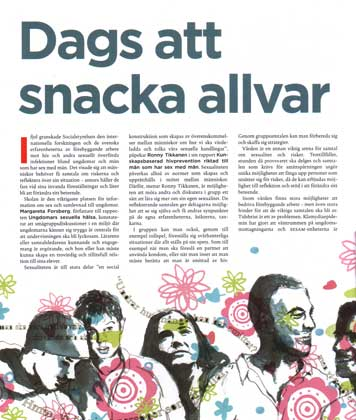 Lafa, Insikt magazine
