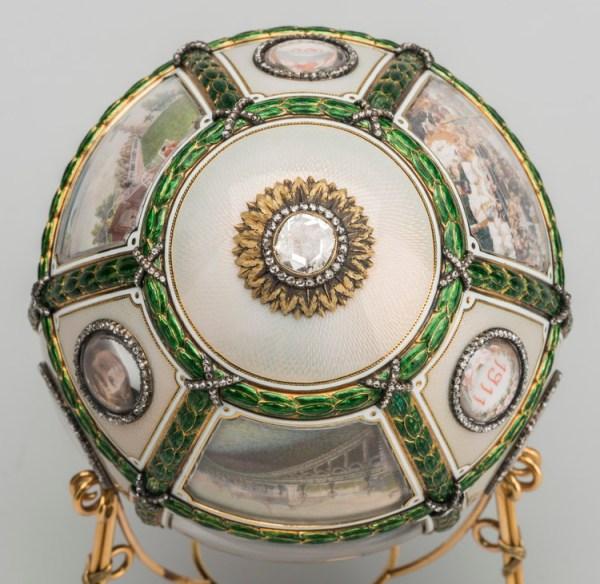 Пасхальное яйцо «Пятнадцатилетие царствования», 11.07.1911 ...