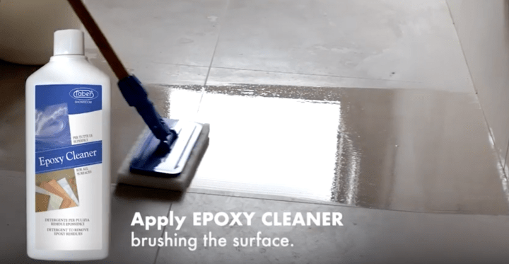 how to remove grout haze with epoxy cleaner