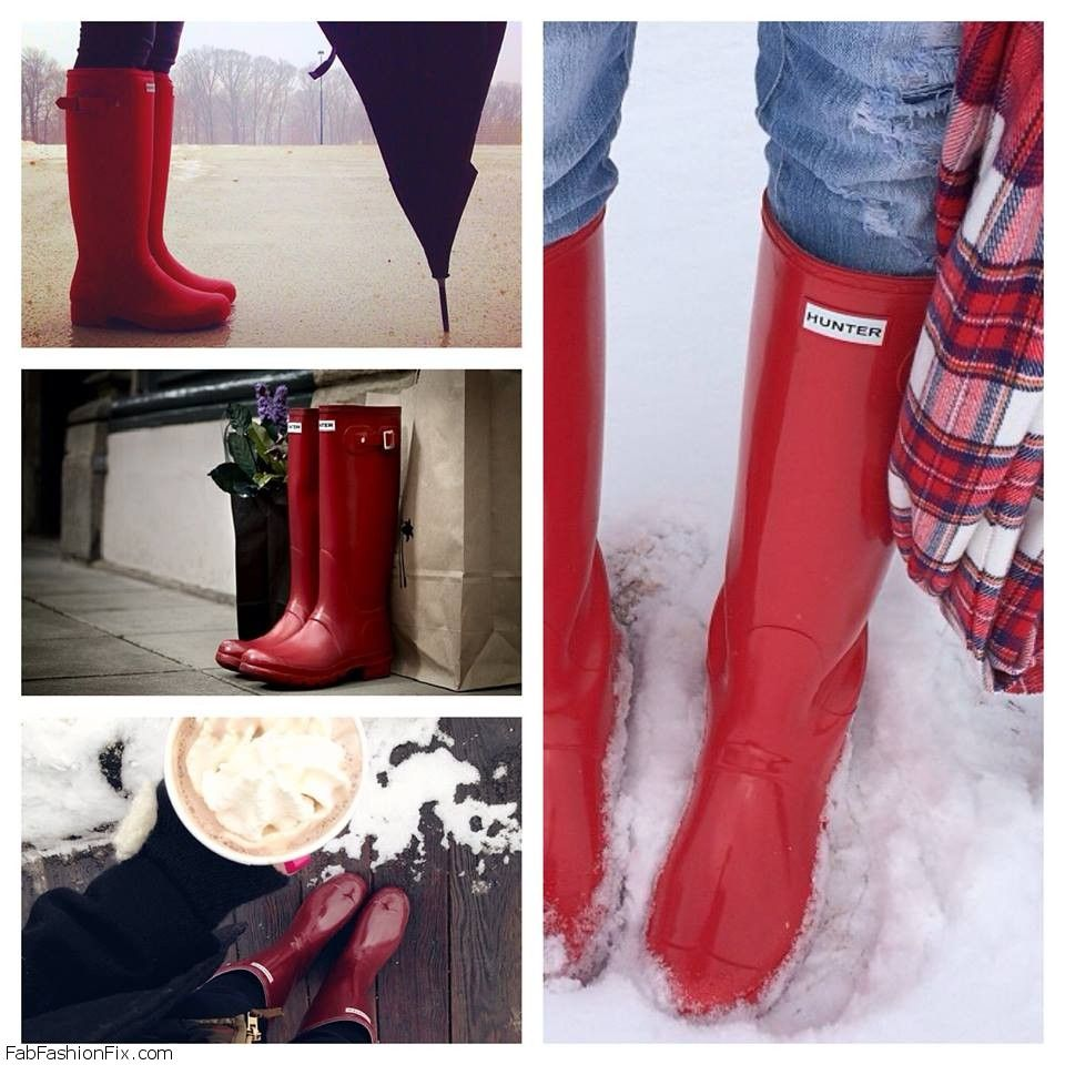 Style Guide How To Style And Wear Hunter Boots Fab