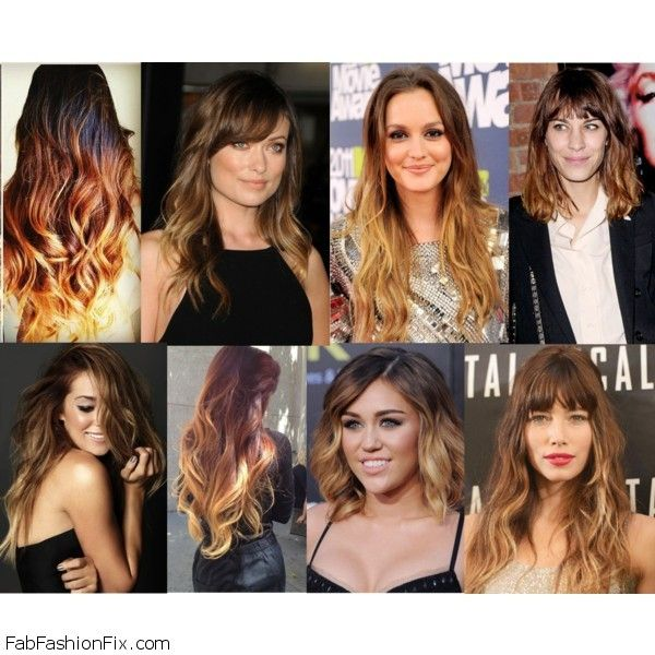 Ombre Hair Trend And Inspirations Fab Fashion Fix