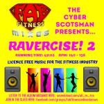 RAVERCISE! 2 - Front Cover
