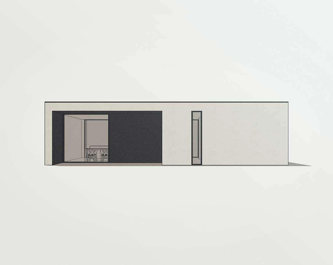 moderne bungalow woning
