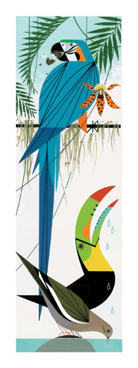 Paradise Pals by Charley Harper