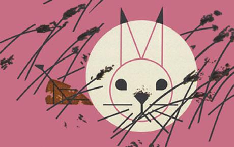 Honey Bunny by Charley Harper