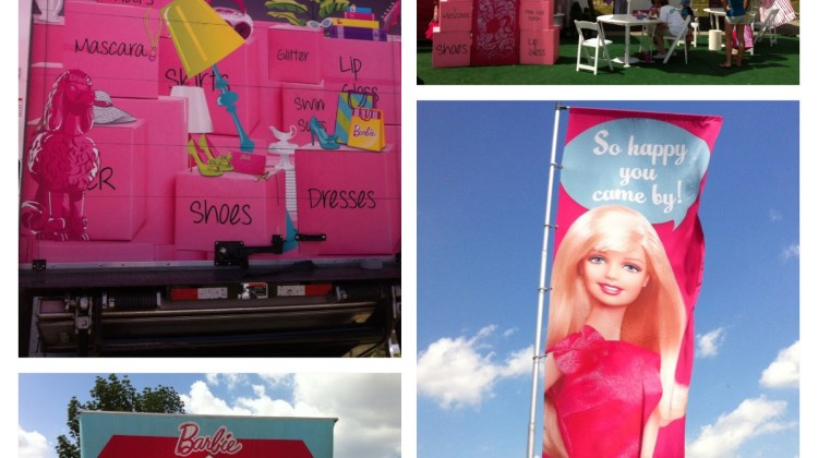 What's Big, Pink and Touring North America? #BarbieIsMoving
