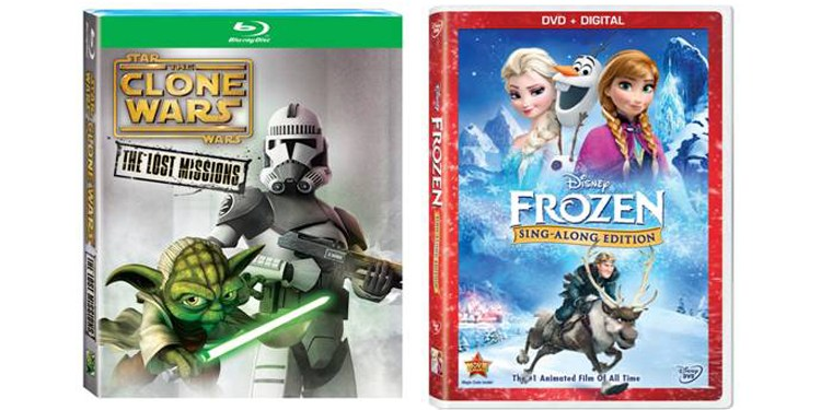 Movies for Kids Young and Old – Star Wars: The Clone Wars & Frozen Sing-Along Edition