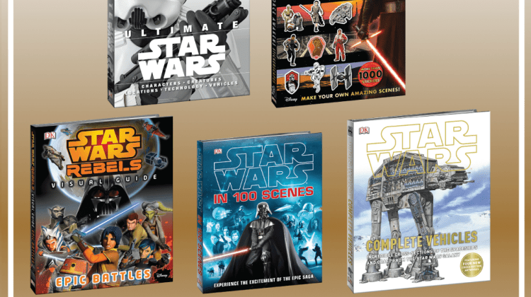 Star Wars Countdown: DK Books #GIVEAWAY