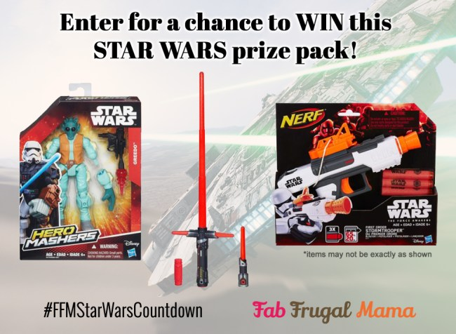 Hasbro Star Wars prize pack image