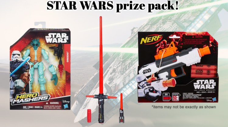 Let's Celebrate Star Wars: The Force Awakens with a Giveaway!
