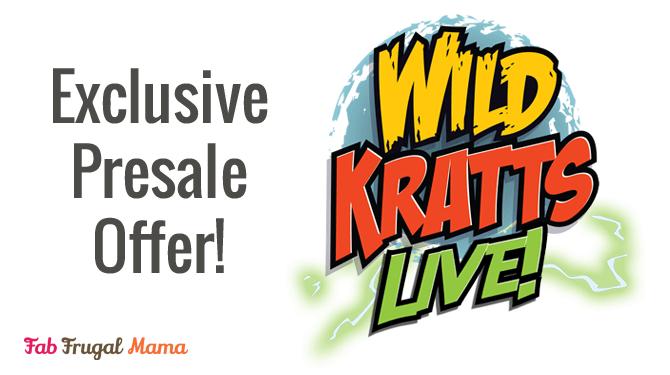 Wild Kratts – LIVE! Presale Code Inside >>