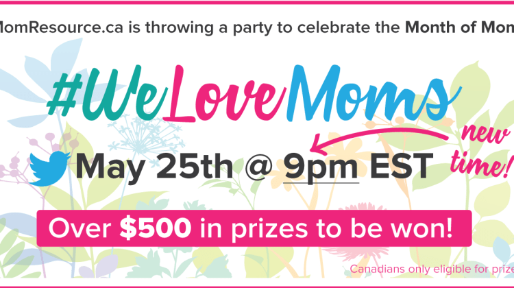 Join Me At The #WeLoveMoms Twitter Party!