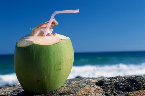Coconut water keeps you hydrated