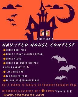 Are you ready for the spooky night #fabhooksswag Happy Halloween Contest online. Read the guidelines & Get a chance to feature on our Facebook page : www.facebooks.com/fabhooks & win a prize worth $15   #halloween #spookynight #spooky #happyhalloween @fabhooksswag