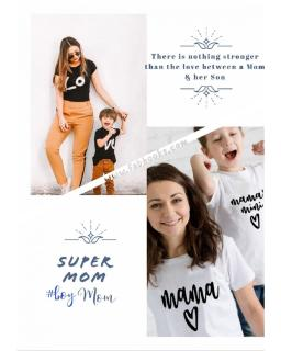 #momnme #motherson #boysmom #momalove #mamasmini #fabhooksswag matching tees & outfits for all @fabhooksswag