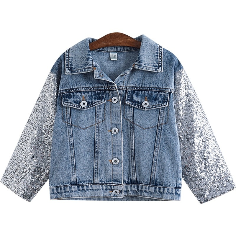 Sequins Unicorn Jacket for toddlers