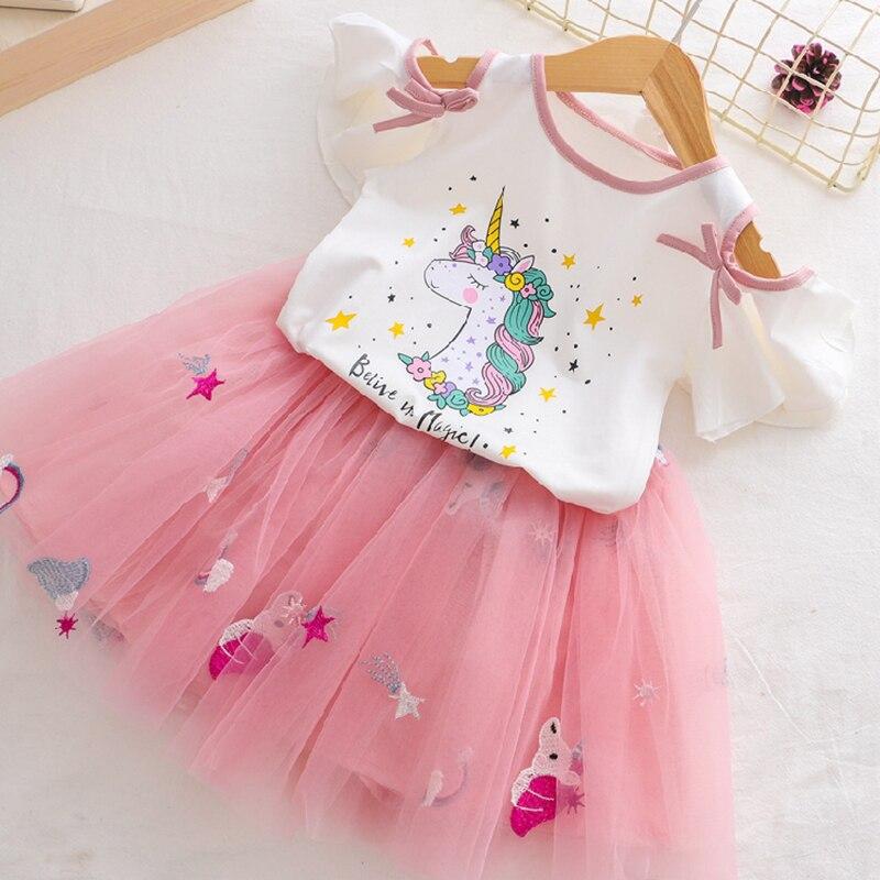 Pink Unicorn Tutu Dress