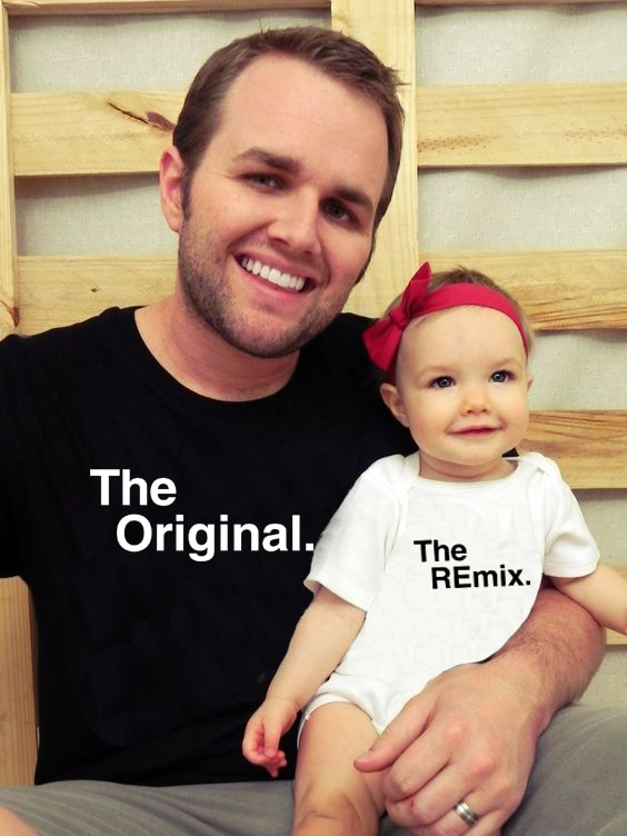 Original Remix Family Matching Father Son Family Look