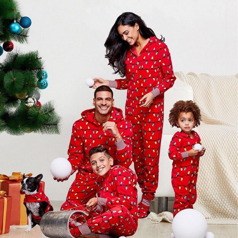 Matching Christmas Onesie Pajamas