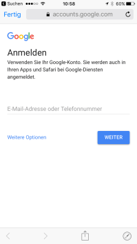 Google Markenkonto