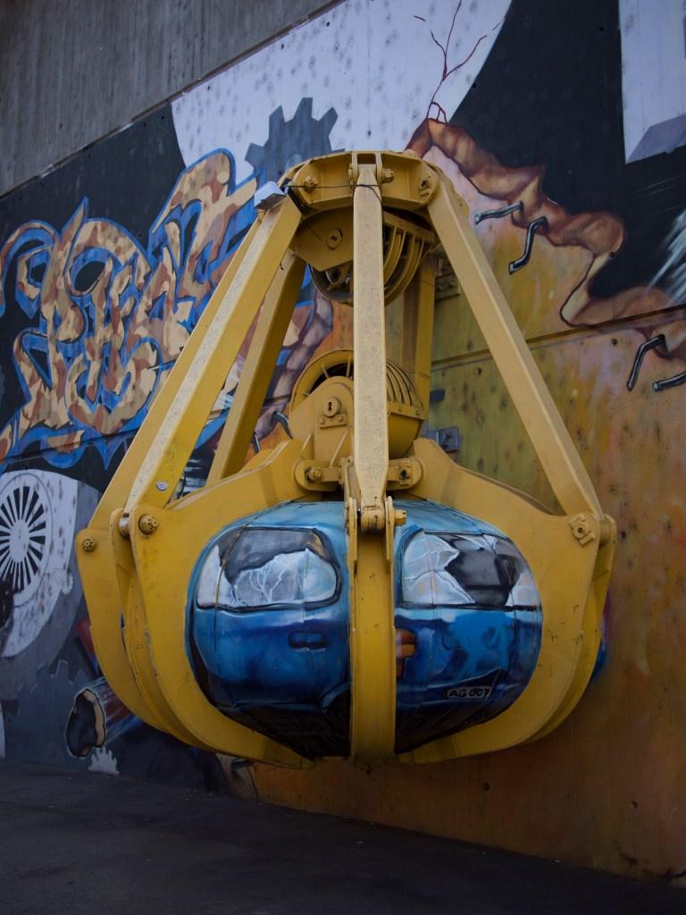 Graffiti KVA Josefstrasse