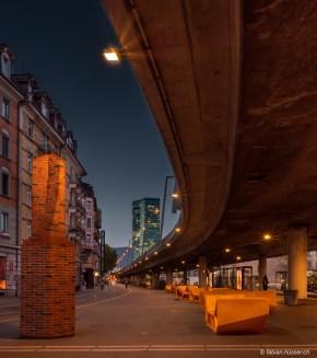 Hardbrücke am Escher-Wyss-Platz