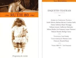 Esquete 80 anos Ruth Laus