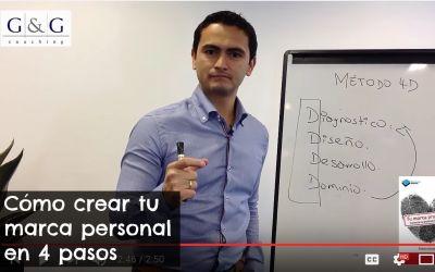 Cómo crear tu marca personal en 4 pasos