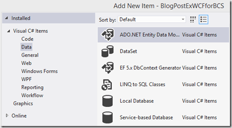 Blog Update on SharePoint BCS with full CRUD Part 1 of 3 (4/6)
