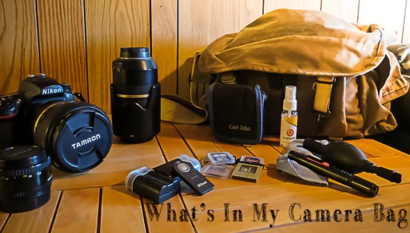 What's in my camerea bag