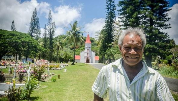 Portrait New Caledonia Poe