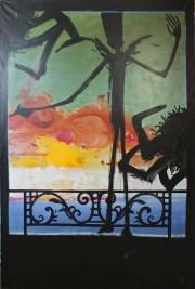 Avenue Daumesnil - www.fabiennecolin.com Acrylique sur toile 130X195.