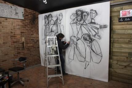 """Installation Nuit Blanche 2013"""