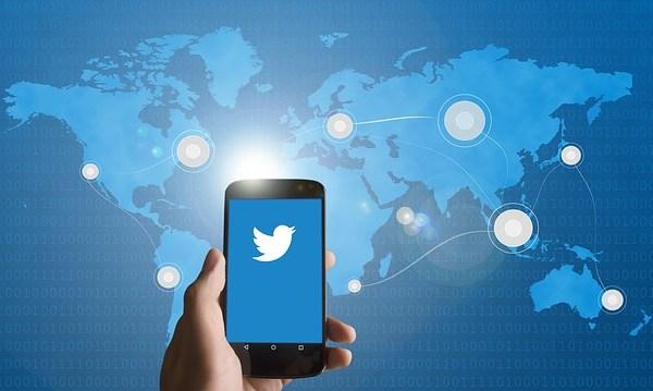 Twitter auf Smarthone