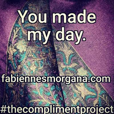 #thecomplimentproject Purple and Blue