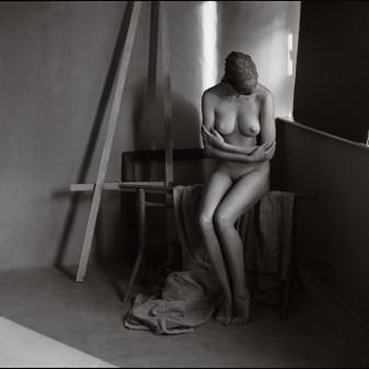 Melania Trump Fabien Queloz ElleStudio Neuchâtel nu artistique, féminité et arts, nu abstrait en studio