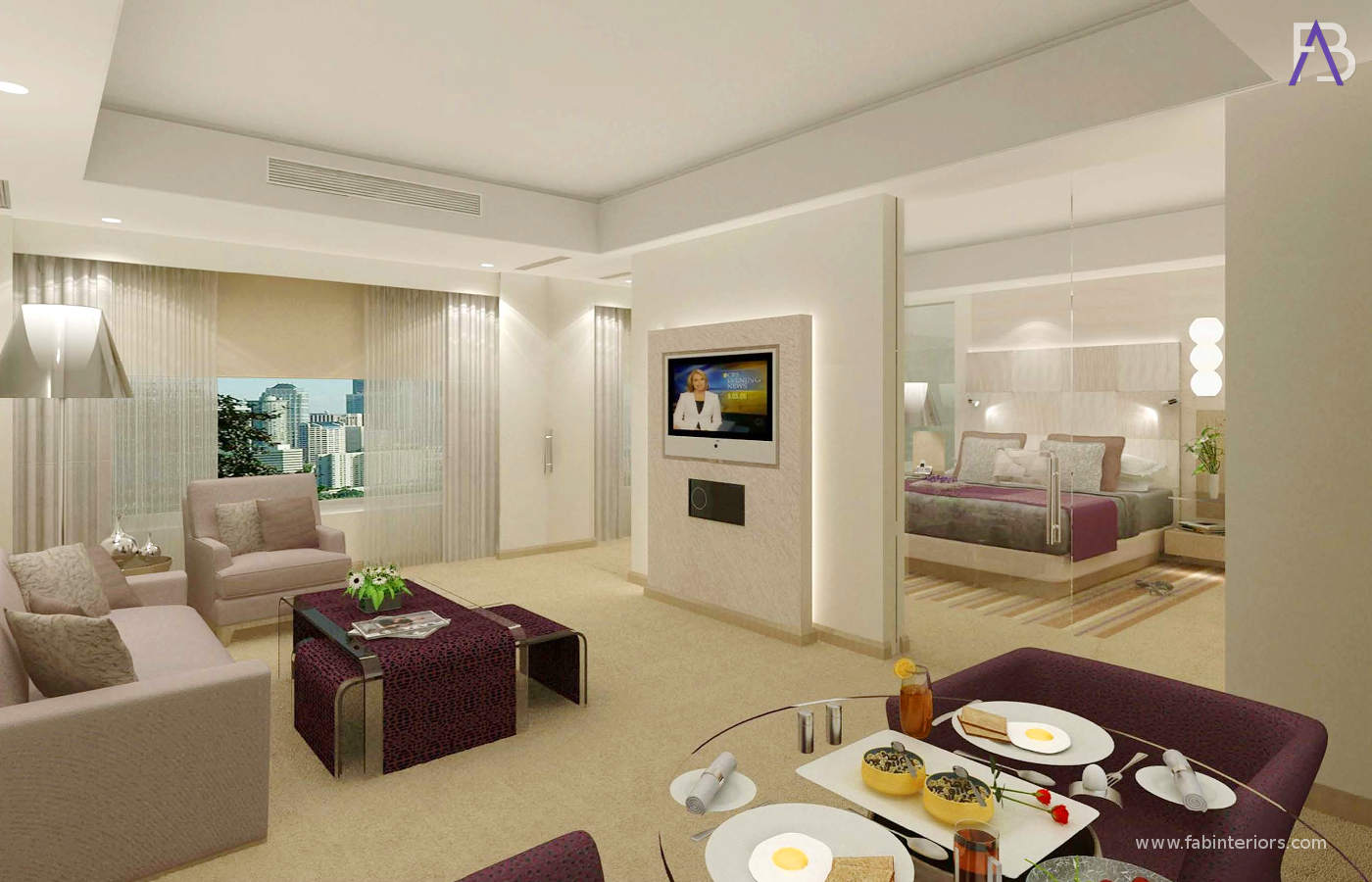 Interior Designers of Suite Le Meridien Gurugram