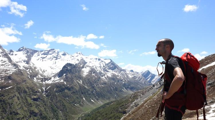 montagna, escursionismo, trail running