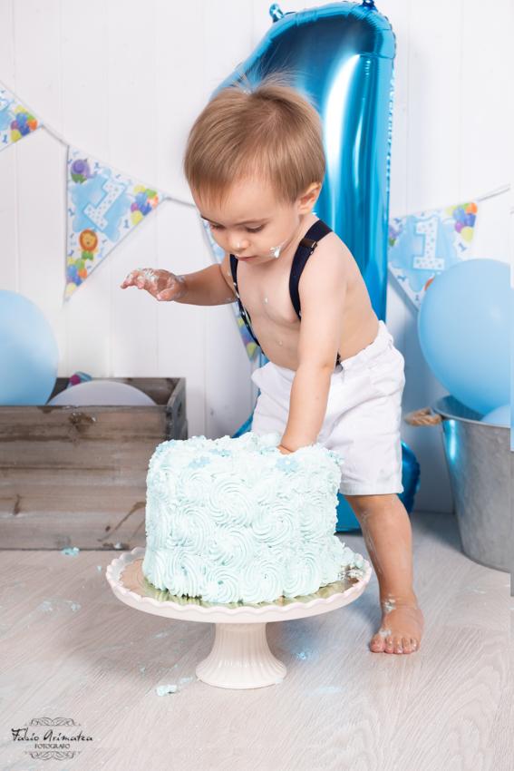 idea primo compleanno Smash Cake