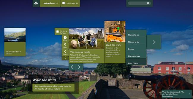 Irlanda brinda o Brasil com site e consulado