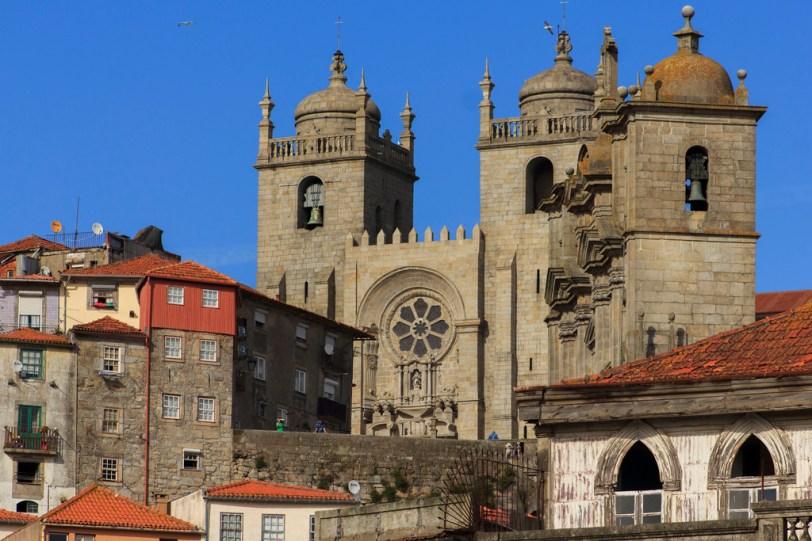 Catedral da Sé e Igreja dos Grilos - Porto - Foto Pedro Paulo Palazzo