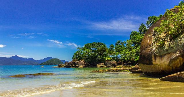 Paias de Ubatuba - Praia do Félix - Murilo Pagani - Site Volto Logo