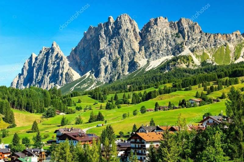Cortina d'Ampezzo é poesia traduzida em natureza
