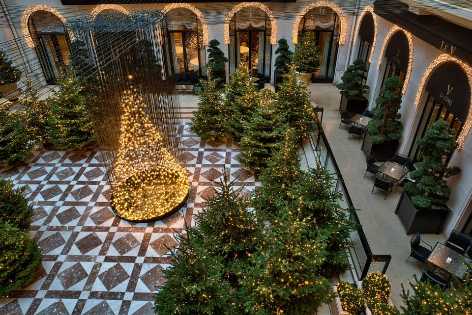 Natal 2013 no George V de Paris