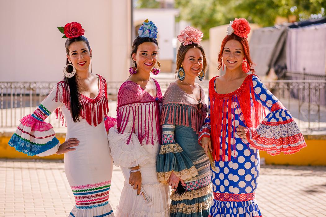 Trajes típicos Feria de Carmona