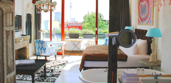 Hotel em Berlim com bons preços - Ackselhaus