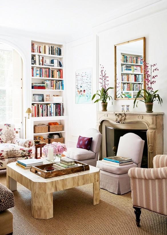Clássico e moderno num apartamento em Nova York