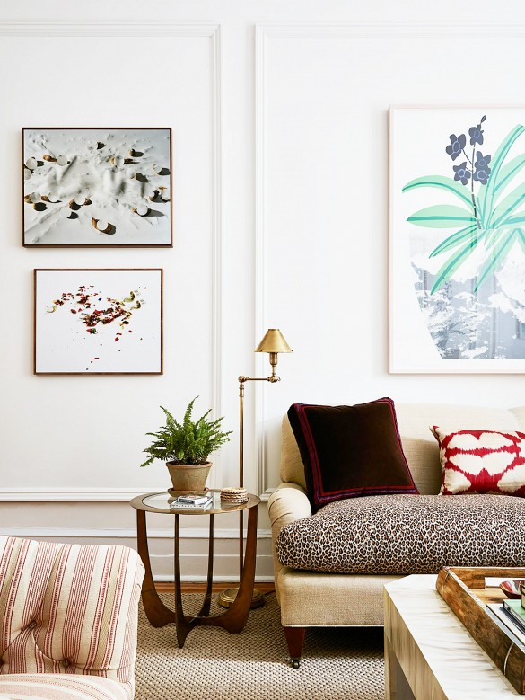 Apê da decoradora Lauren McGrath mistura clássico e moderno