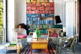 Uma casa moderna com ares de fazenda