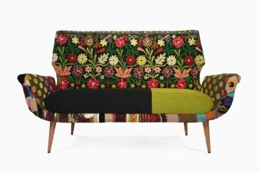 Bokja - móveis com tecidos étnicos vintage